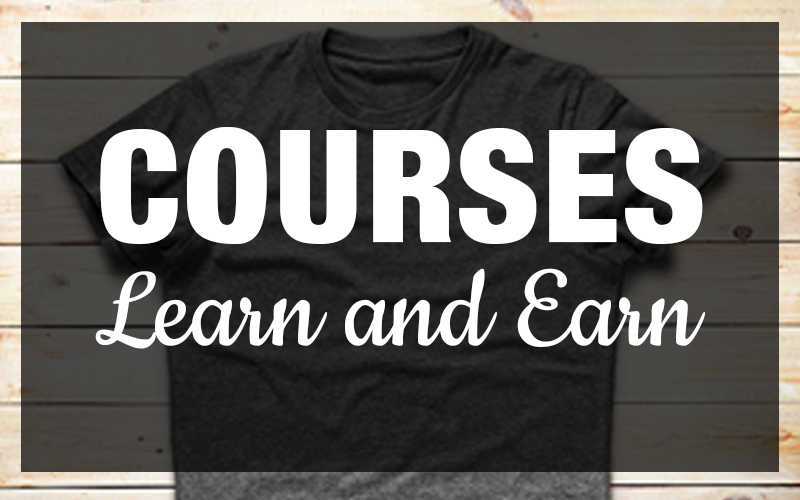 Enroll in The The Passive Shirt Profits Courses