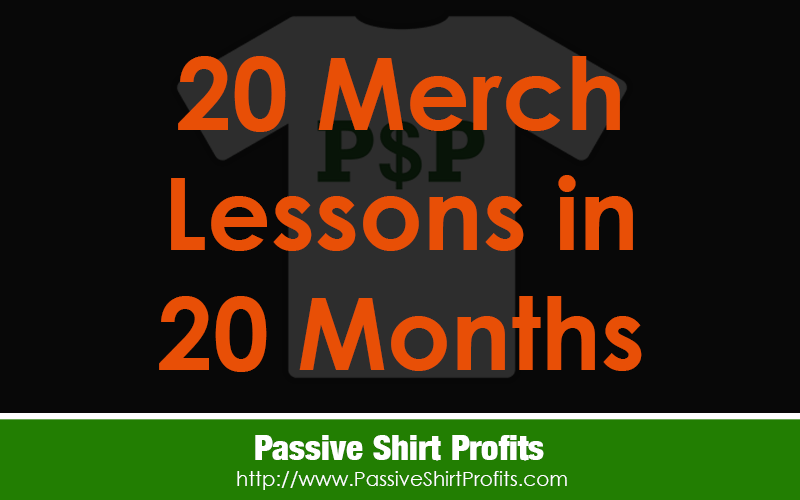 20 Merch Lessons In 20 Months
